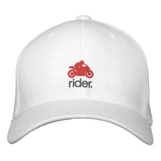 Cmのライダーの帽子(gryまたは赤い) 刺繍入りキャップ