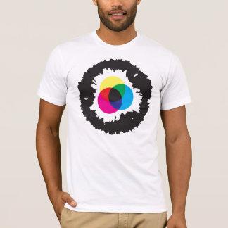 CMYKのアイリス Tシャツ