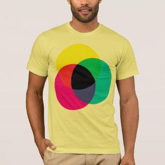 CMYKのティー Tシャツ
