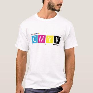CMYKは色を製版します Tシャツ