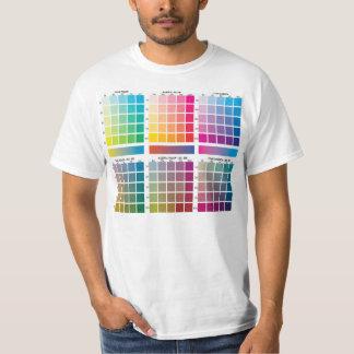 CMYK色 Tシャツ