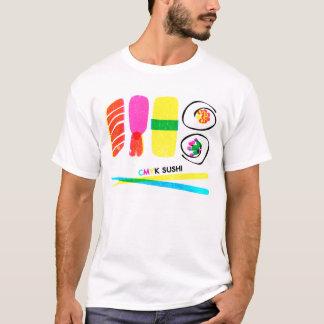 CMYK -寿司 Tシャツ