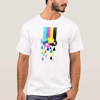 CMYK -虹 Tシャツ