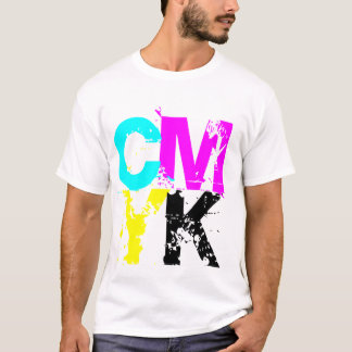 CMYK Tシャツ