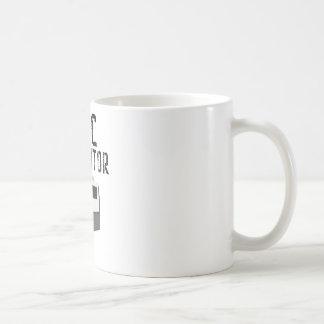 CNCオペレータ機械工 コーヒーマグカップ