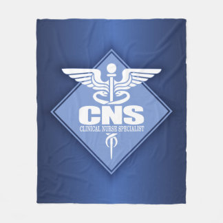 CNSの臨床ナースの専門家 フリースブランケット