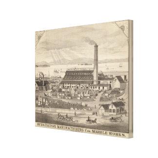 Coの大理石の仕事を製造するバーリントン キャンバスプリント
