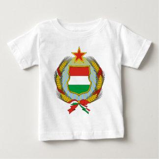 Coa_Hungary_Country_History_ (1957-1990年) ベビーTシャツ