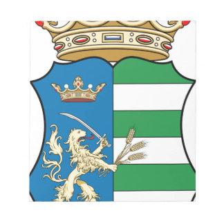 Coa_Hungary_County_Békés_ (歴史) ノートパッド