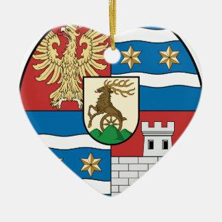Coa_Hungary_County_Varasd_ (歴史) セラミックオーナメント