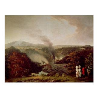Coalbrookdale 1777年の午後の意見 ポストカード
