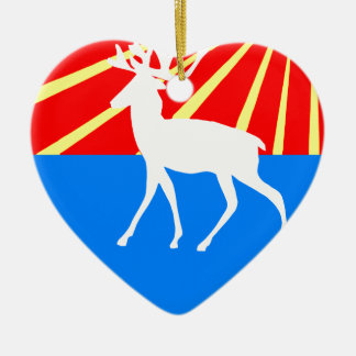 Coat_of_arms_Leskolovo_ (Leningrad_oblast) (2) セラミックオーナメント