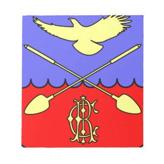 Coat_of_arms_of_Druzhnogorskoye_urban_settlement、_ ノートパッド