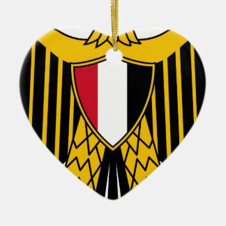 Coat_of_arms_of_Egypt セラミックオーナメント