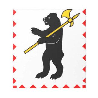 Coat_of_Arms_of_Maloyaroslavets_ (Kaluga_region) . ノートパッド