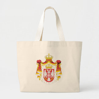 Coat_of_arms_of_Serbia_ (2004-2010年) ラージトートバッグ