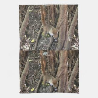 CoatiのMundiのジャングルの台所タオル キッチンタオル