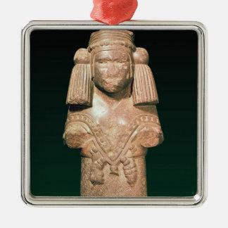 Coatlicue、古代地球および母の彫像 メタルオーナメント