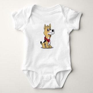 coboyかわいい犬 ベビーボディスーツ