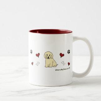 CockapooCream ツートーンマグカップ