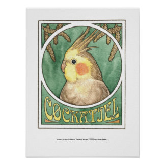Cockatielの新しい ポスター