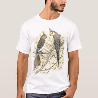 Cockatielの組- Nymphicusのhollandicus Tシャツ