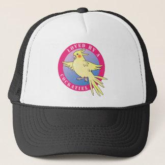 Cockatielの鳥のピンクの帽子によって愛される キャップ