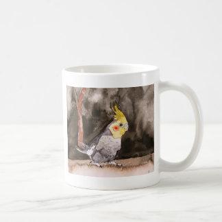 cockatielの鳥の絵画 コーヒーマグカップ