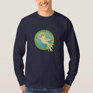 Cockatielの鳥のTシャツによって愛される Tシャツ