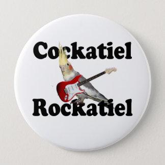 CockatielのRockatielの巨大なボタン 缶バッジ