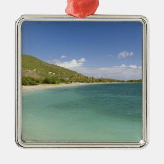 Cockleshell湾、南東半島、St Kitts、 メタルオーナメント