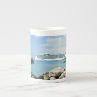 CocoCayの遊航船 ボーンチャイナカップ