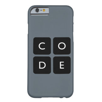 Code.orgのロゴの電話箱 Barely There iPhone 6 ケース