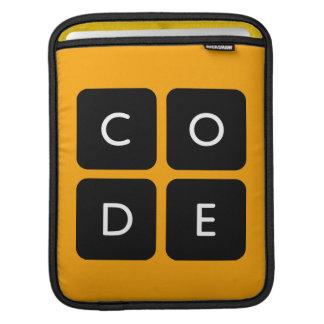 Code.orgのロゴ iPadスリーブ