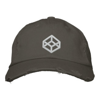 CodePenのグランジな帽子 刺繍入りキャップ