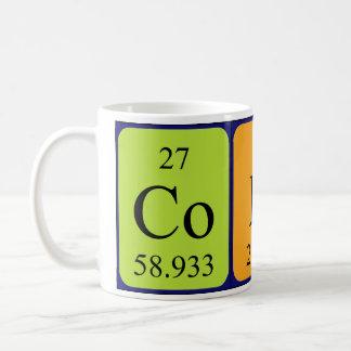 Codyの周期表の名前のマグ コーヒーマグカップ