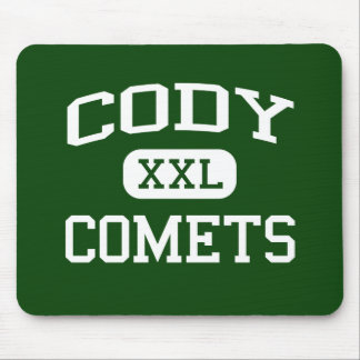 Cody -彗星-高等学校-デトロイトミシガン州 マウスパッド