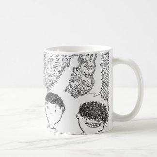 Cody Dallaの友情のアートワークのマグ! コーヒーマグカップ