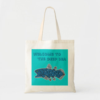 "Coelacanthのトート""深海への歓迎"" トートバッグ"