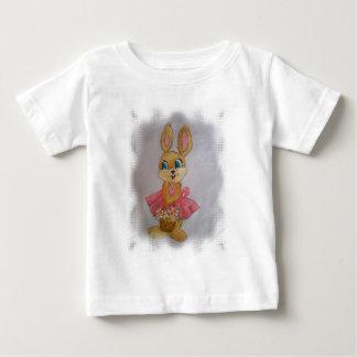 coelhaローザ1.jpg ベビーTシャツ