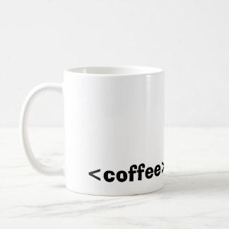 <coffee> HTMLのマグ コーヒーマグカップ