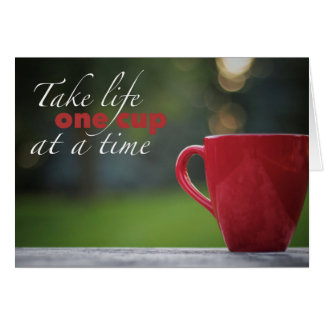 Coffee Life Note Cards カード
