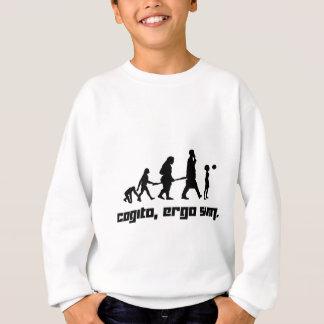 Cogitoのそれゆえに合計 スウェットシャツ