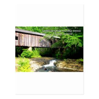 COHEELEEの入り江の屋根付橋- HILTON、GA ポストカード