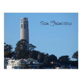 Coitタワーサンフランシスコ ポストカード