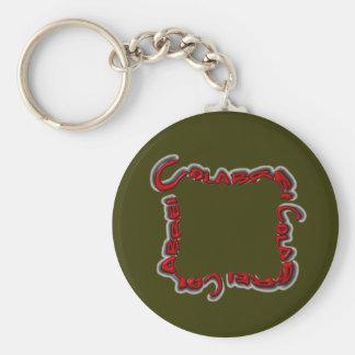 Colabreiのロゴのkeychain -赤 キーホルダー