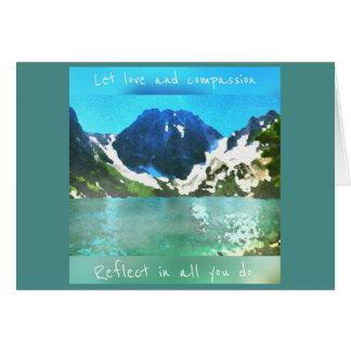 Colchuck湖 カード