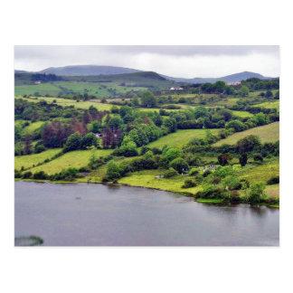 ColgaghのLough湖アイルランド3 ポストカード