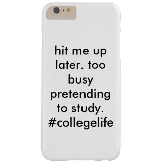 #collegelife barely there iPhone 6 plus ケース