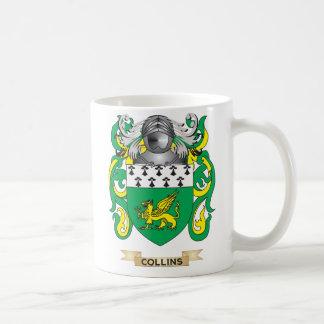 Collinsの紋章付き外衣 コーヒーマグカップ